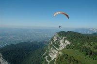 Vol autour de Grenoble